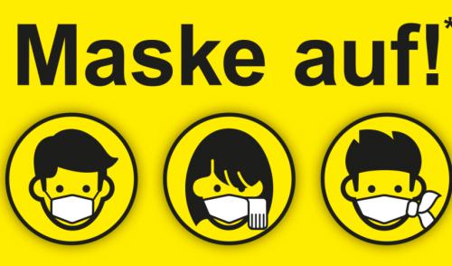 Artikelbild zu Artikel Mund-Nase-Bedeckung nicht vergessen!