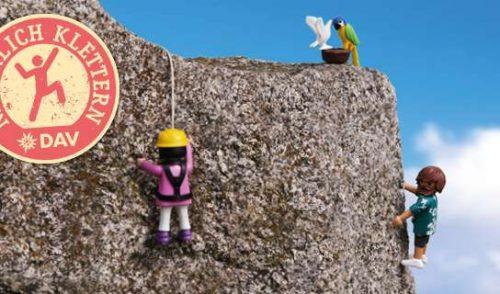 """Artikelbild zu Artikel DAV-Kampagne """"Natürlich klettern"""""""